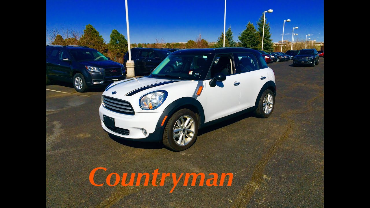 2013 Mini Cooper Countryman Start Up In Depth Tour And Review