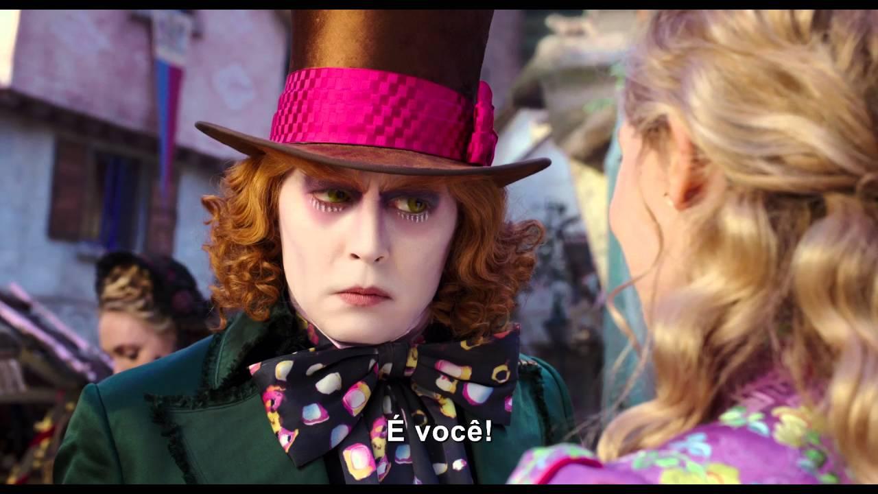 Alice Nos Pais Das Maravilhas Filme Online alice através do espelho - trailer legendado - 26 de maio nos cinemas