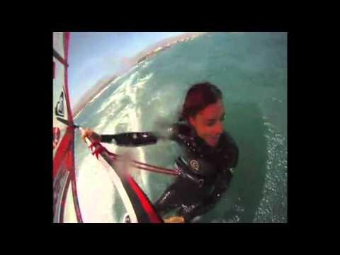 Daida Moreno windsurfer
