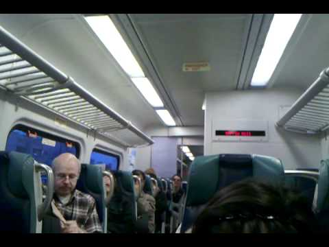 Crazy Lady on LIRR Port Washington Line Won't STFU Pt. 1