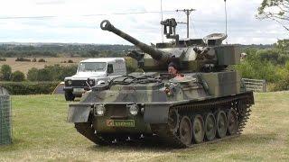 fv101 cvrt diesel scorpion 90 on the move sounds lovely