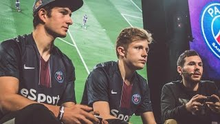Playing with the FIFA 17 World Champion against Bruce Grannec and Brak !!!
