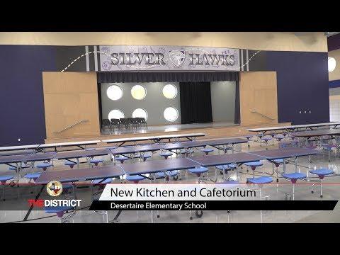 New Kitchen & Cafetorium at Desertaire Elementary School