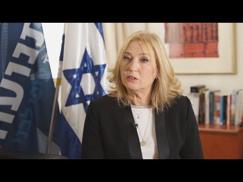 Ex-minister Tzipi Livni calls for freeze on Israeli settlements