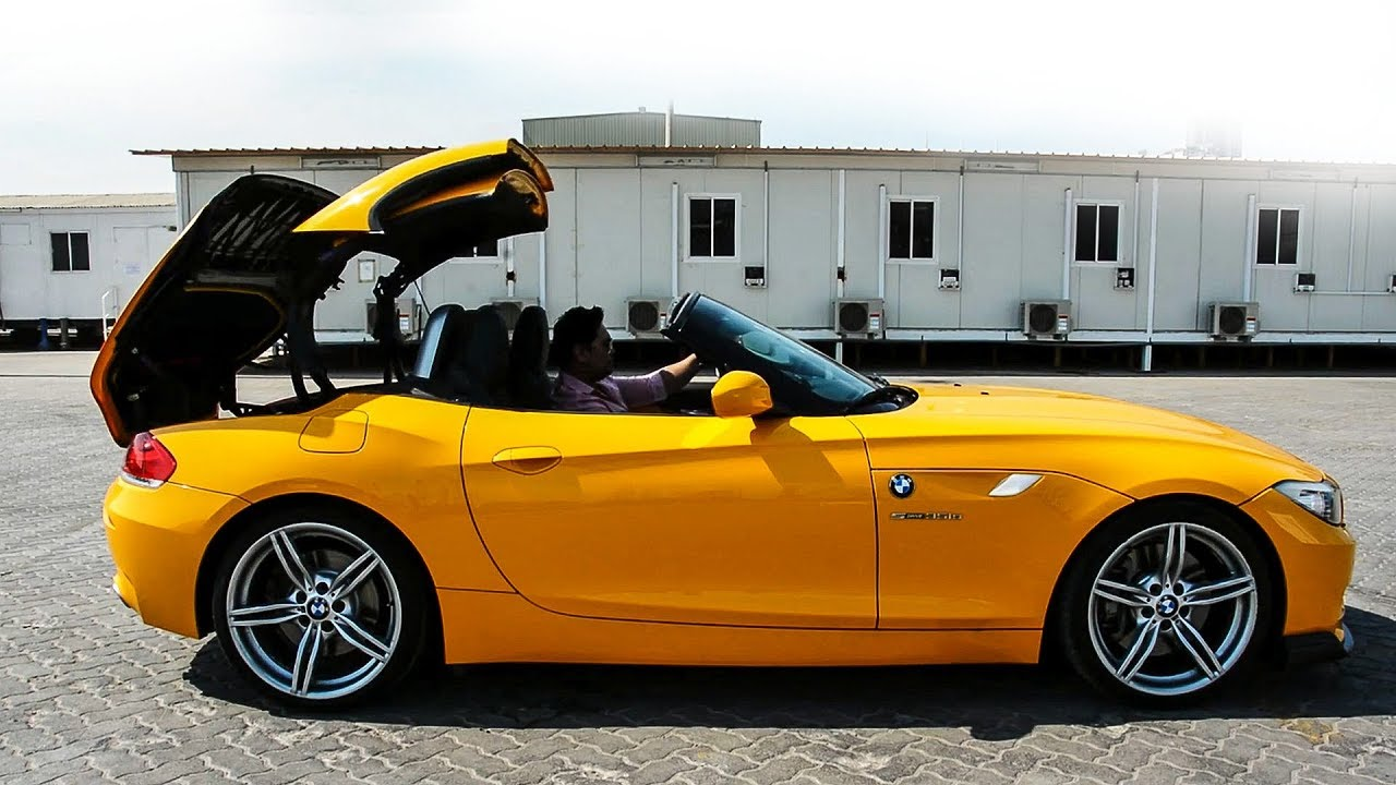 Drop Top The Bmw Z4 Roadster Convertible