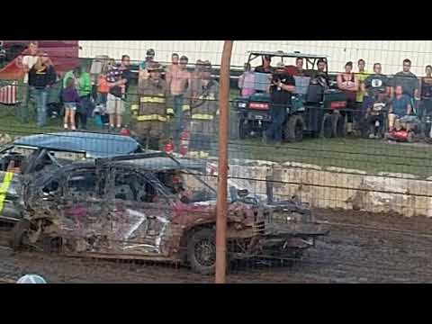 Dodge County Fair - Beaver Dam, WI - V6 midsize heat ending