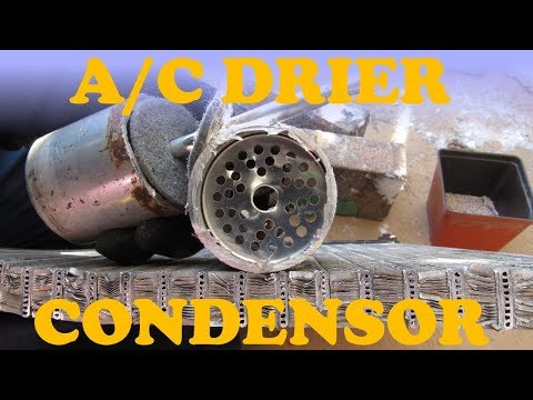 How an A/C Dryer and Condenser Works