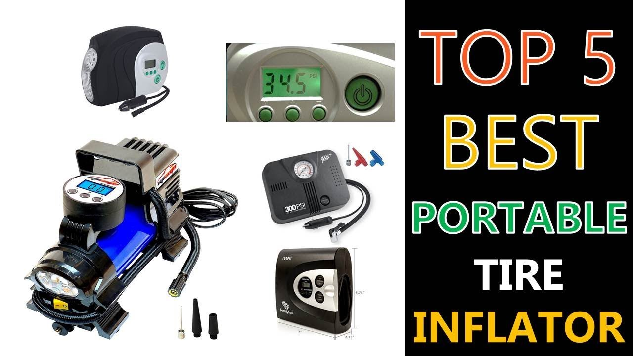 Best Portable Tire Inflator Youtube