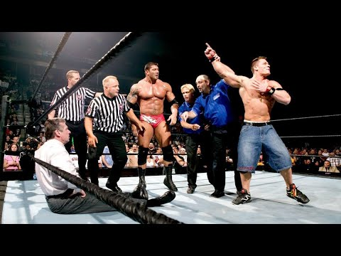 10 WWE Matches That Went Totally Off Script
