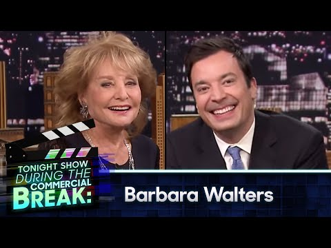 During Commercial Break: Barbara Walters