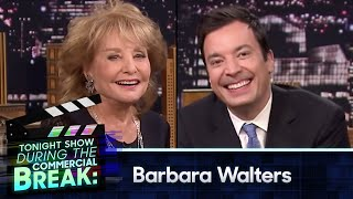 During Commercial Break: Barbara Walters