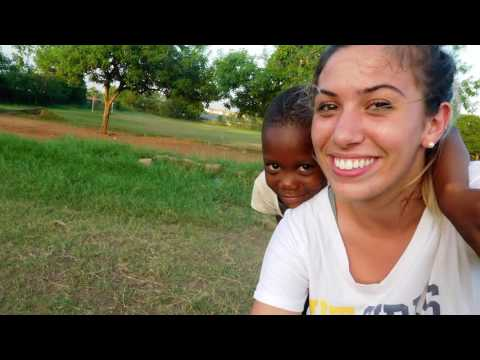 First UToledo student abroad in Ghana, Africa