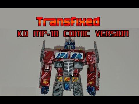 #130 KO MP-10 Comic Version Masterpiece Optimus Prime