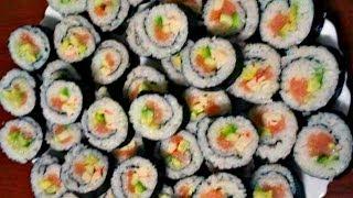 Ну, оОчень вкусные - Роллы или ... суши(, 2014-01-11T15:02:58.000Z)