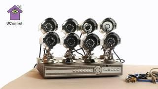 Презентация комплекта видеонаблюдения UControl Бизнес(Комплект UControl Бизнес - оптимальное решение по видеонаблюдению для большого дома и бизнеса на 8 камер с возмо..., 2011-05-24T12:06:13.000Z)