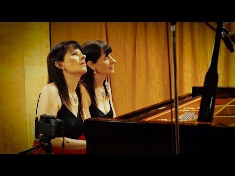 Brahms - Hungarian Dance No. 20 Poco allegretto - Vivace / Fabiana & Paula Chavez - Piano four hands