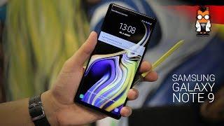 Samsung Galaxy Note 9 Hands on: Das beste Smartphone für Business-Nutzer? [Deutsch/German]