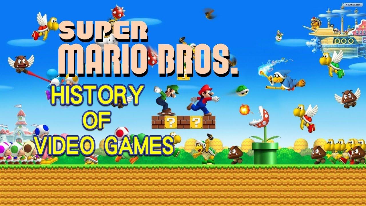 mario game history