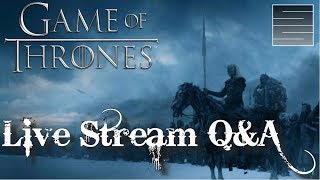 Game of Thrones Season 8 Predictions And Giveaway! Live