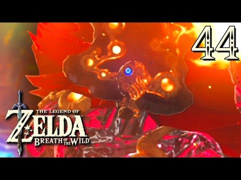 ZELDA BREATH OF THE WILD #44 : OMBRE DE FEU DE GANON !