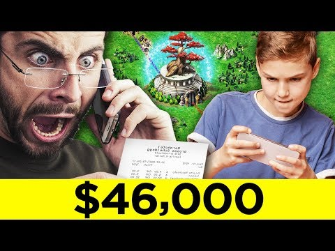Kids Who Wasted Thousands Of Dollars On Gaming