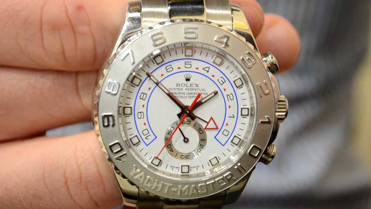Rolex Yachtmaster 2 Gold And Silver
