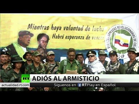 Exlíderes de las FARC anuncian el regreso a la lucha armada
