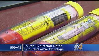 EpiPen Expiration Dates Extended Amid Shortage