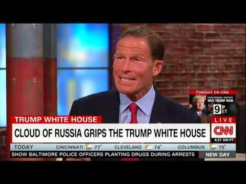 Sen. Blumenthal discusses Russia investigation on CNN