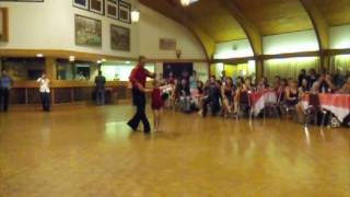 7 year old in pro-am  latin ballroom Dance Competition!!!