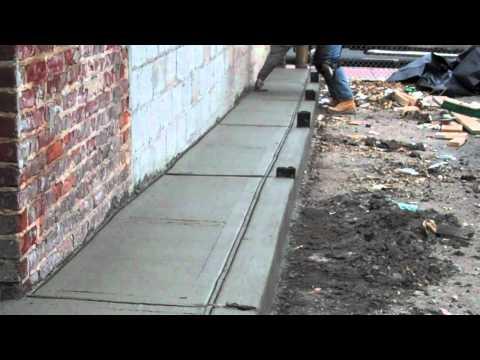 Tk Design Management Concrete Sidewalk Curbs Handicap