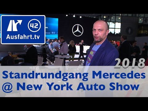Mercedes-Benz Messestand - New York International Auto Show 2018 NYIAS