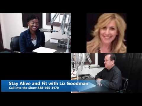 Stay Alive and Fit with Liz Goodman August 18, 2016