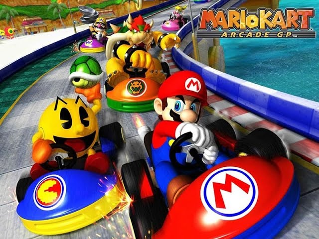 Let's Play: Mario Kart Arcade GP (Longplay)