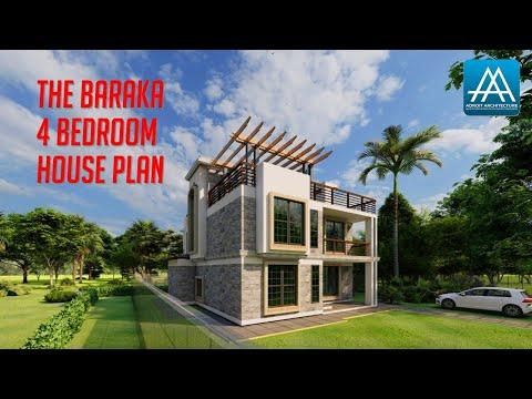 the-baraka-contemporary-4-bedroom-house-plan