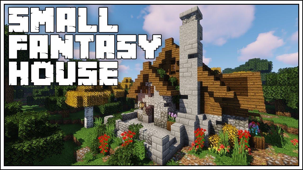 Minecraft Tutorial ► Small Fantasy House