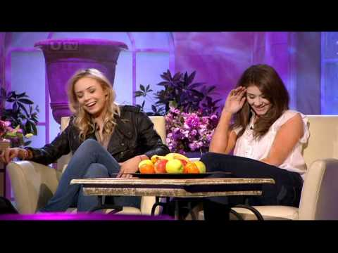 Brooke Vincent & Sacha Parkinson - Inteview 10-03-11