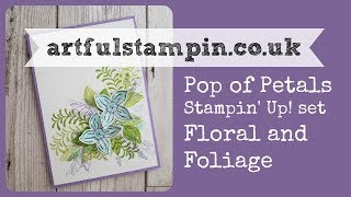 {Pop of Petals Stamp and Punch set - Love it!}