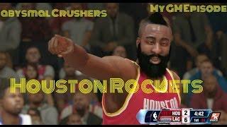 NBA 2K14 Rockets MyGm (Year 2) Episode 51 (First Round) Game Over?