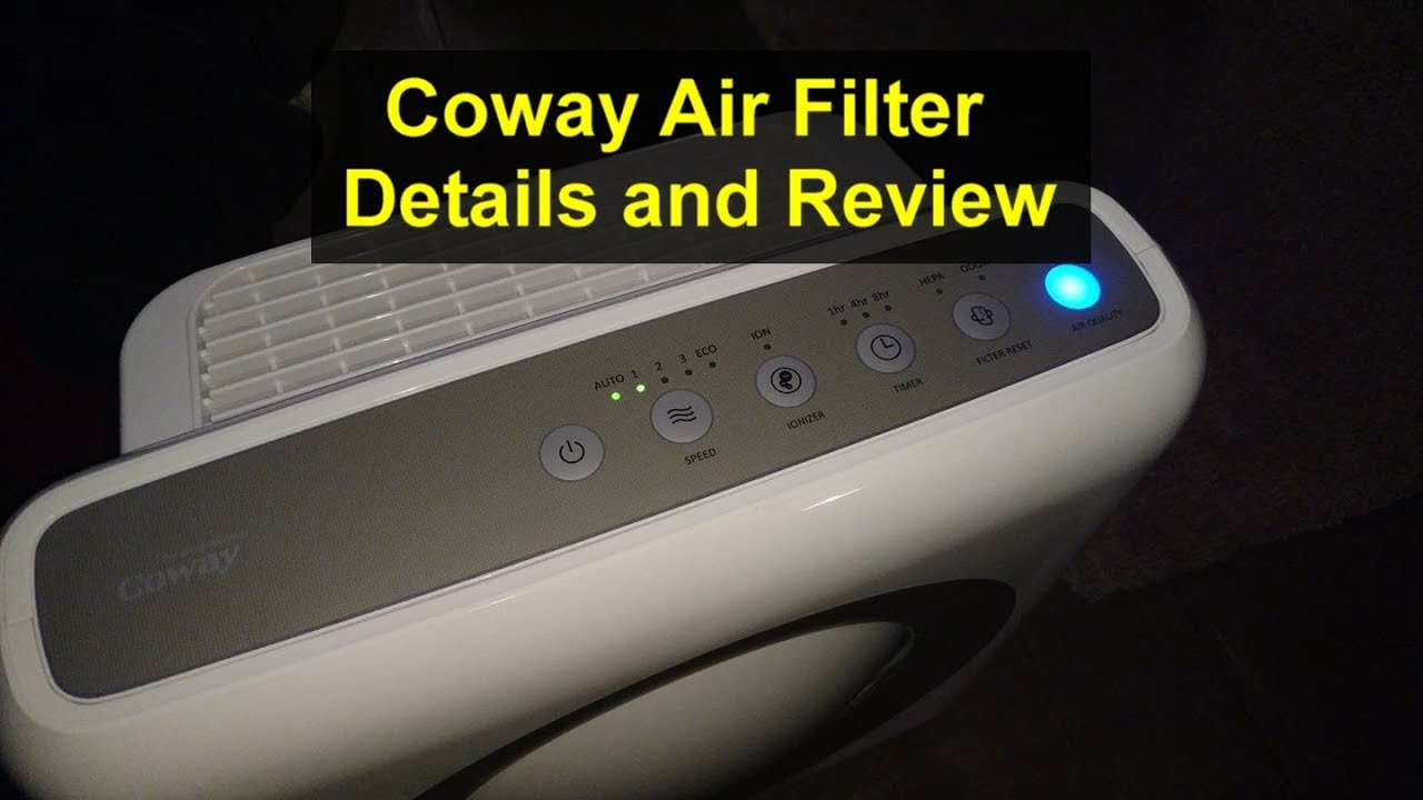 coway mighty air purifier ap 1512hh details and review votd youtube. Black Bedroom Furniture Sets. Home Design Ideas