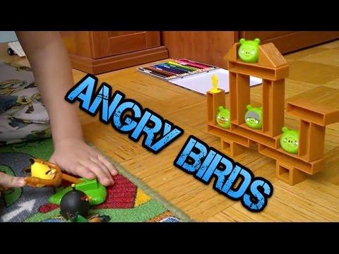 Angry Birds смотреть настольную  игру /board Game Angry Birds