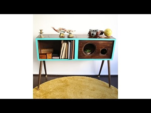 Turn Speakers Into A Table
