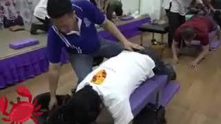 Extreme massage Adamlar kaporta ustası sanki
