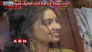Dorasani Movie Heroine Shivatmika Attends Fashion Expo In Hyderabad  Abn Telugu