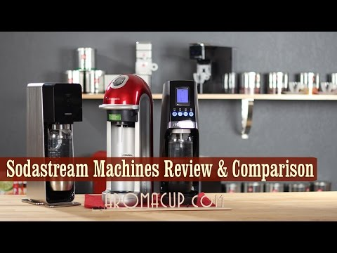 Sodastream Fizz vs Source vs Revolution | Home Soda Maker Reviews and Comparison