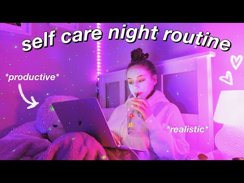 MY SELF CARE NIGHT ROUTINE! how to relax and pamper yourself after a long week ♡
