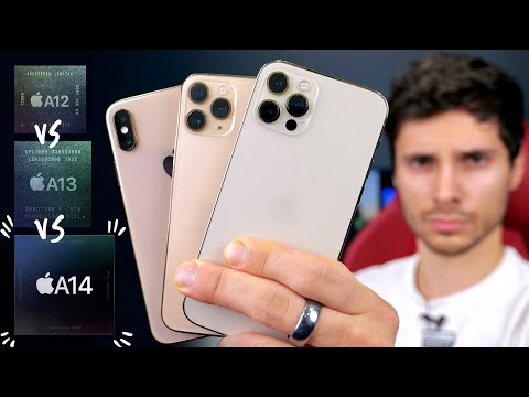 iPhone 12 Pro vs 11 Pro vs XS SPEED Test! A14 Bionic DELIVERS!