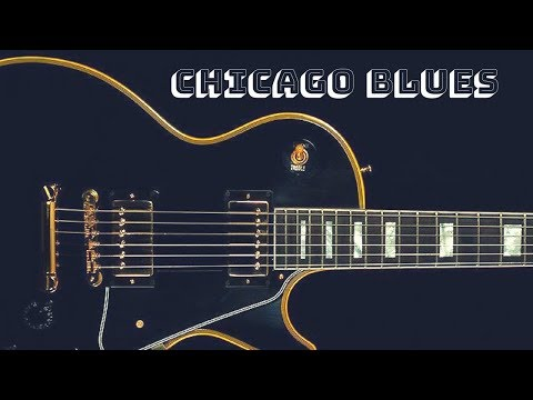 Chicago Blues Shuffle | Guitar Backing Jam Track (D)
