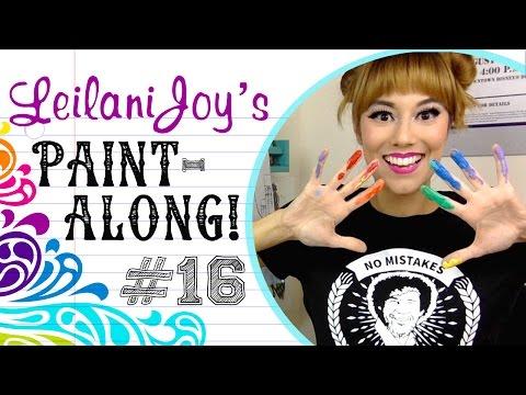 Leilani Joy's Paint Along #16: Self Portrait Piece
