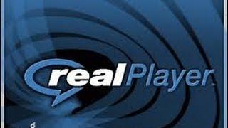 تحميل فيديو من اليوتيوب ببرنامج REAL PLAYER + تقطيع الفيديو
